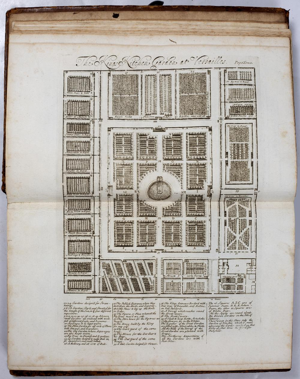 LA QUINTINYE, Jean de, 'The Compleat Gard'ner; or Directions for Cultivating and Right Ordering of - Image 3 of 10