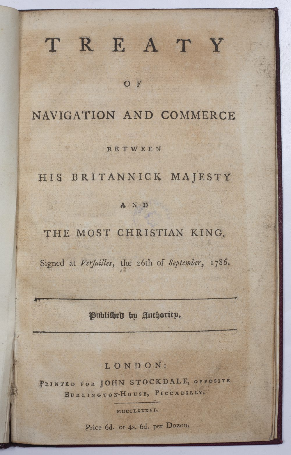 'A Genuine and True Journal of the Most Miraculous Escape of the Young Chevalier from the Battle - Image 3 of 3