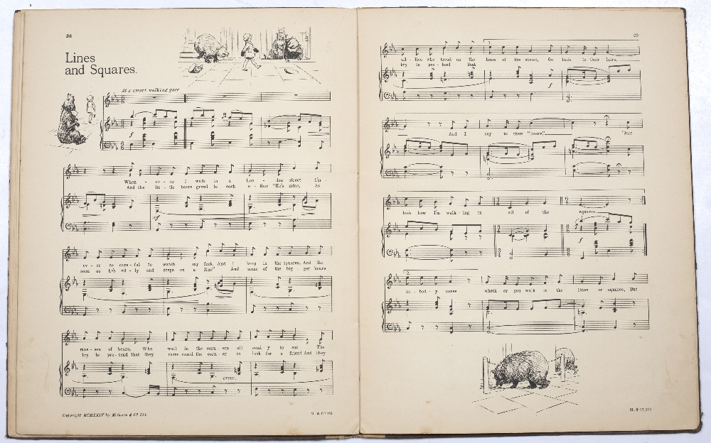 MILNE, A.A. 'Fourteen Songs from When We Were Very Young' music by H Fraser-Simson, E.H. Shephard. - Image 3 of 3