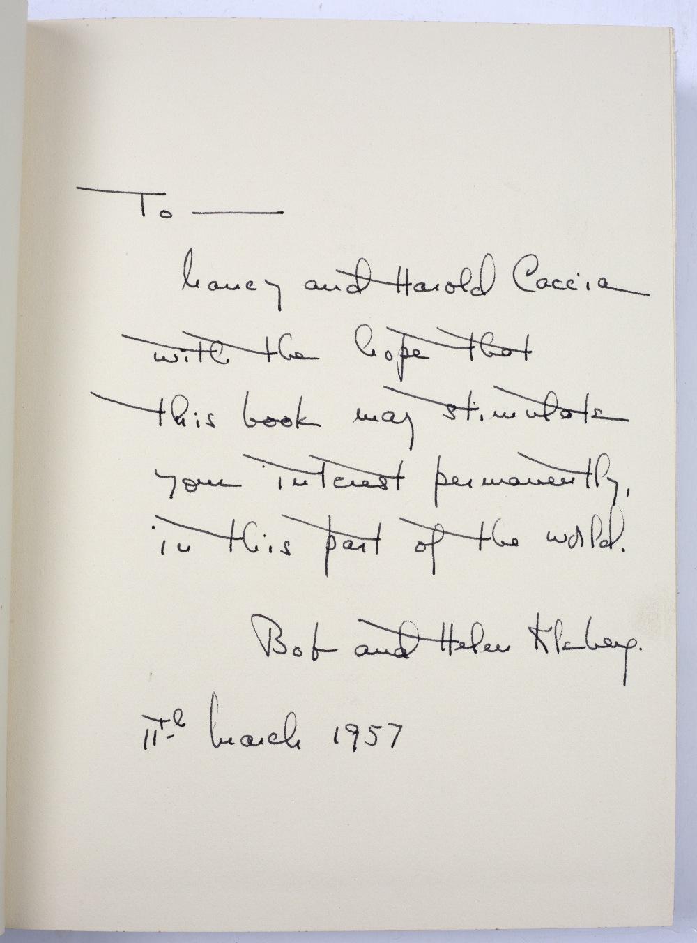 LEA, Tom, The King Ranch, Kingsville Texas. Carl Hertzog, El Paso 1957. Saddle Blanket Edition. - Image 5 of 7