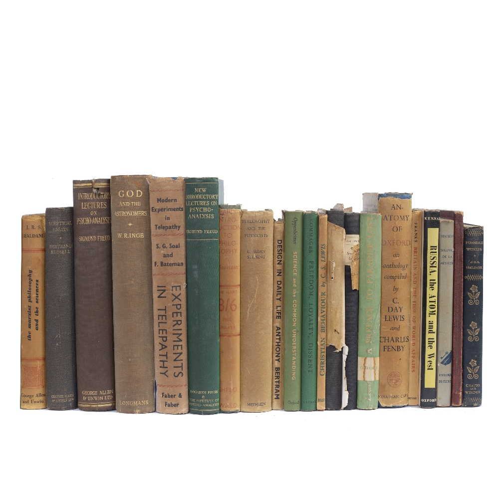 PHILOSOPHY AND PSYCHOLOGY TITLES inc. FREUD, Sigmund, Introductory Lectures on Psycho-Analysis 1936,