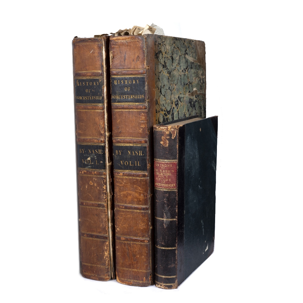 NASH, Treadway Russell (1724-1811) English Clergyman and Antiquarian Collections for the History
