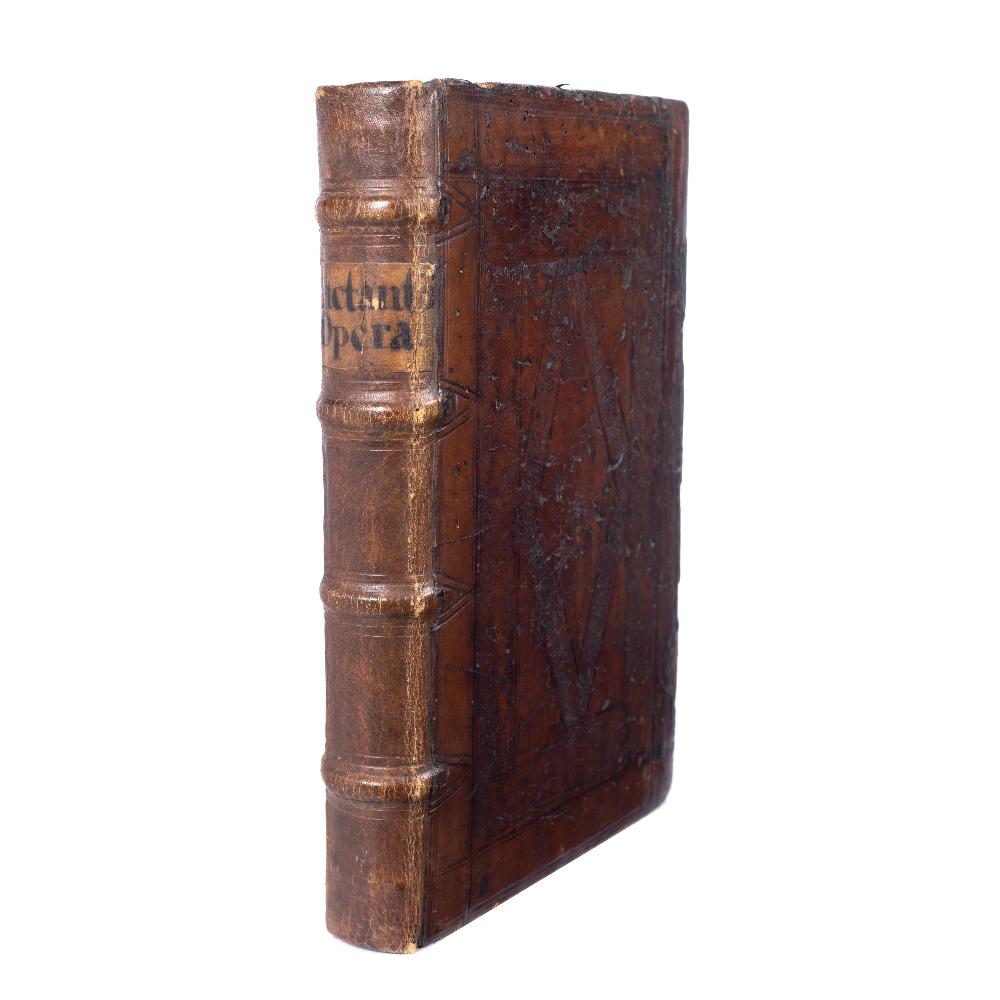 LACTANTIUS (240-320), Early Christian Author Opera, Henricum Petri, Basel (Switzerland), March 1563.