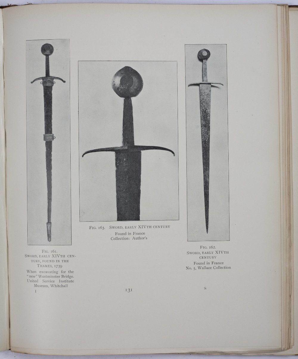 LAKING, Sir Guy Francis, A Record of European Armour and Arms through Seven Centuries. 5 vols. Lge - Image 3 of 4