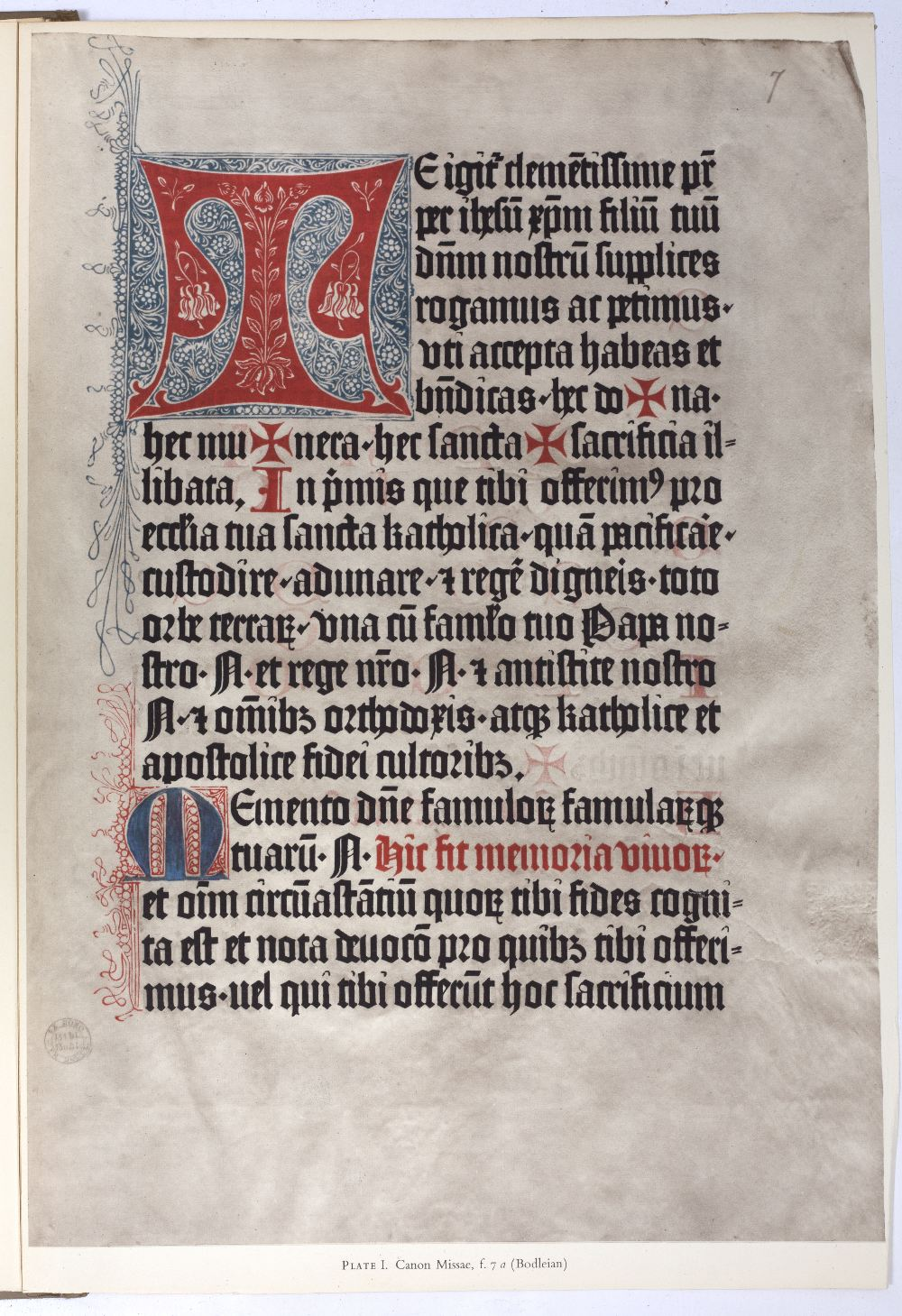MASSON, Sir Irvine, The Mainz Psalters and Canon Missae 1457-1459. Bibliographical Society, London