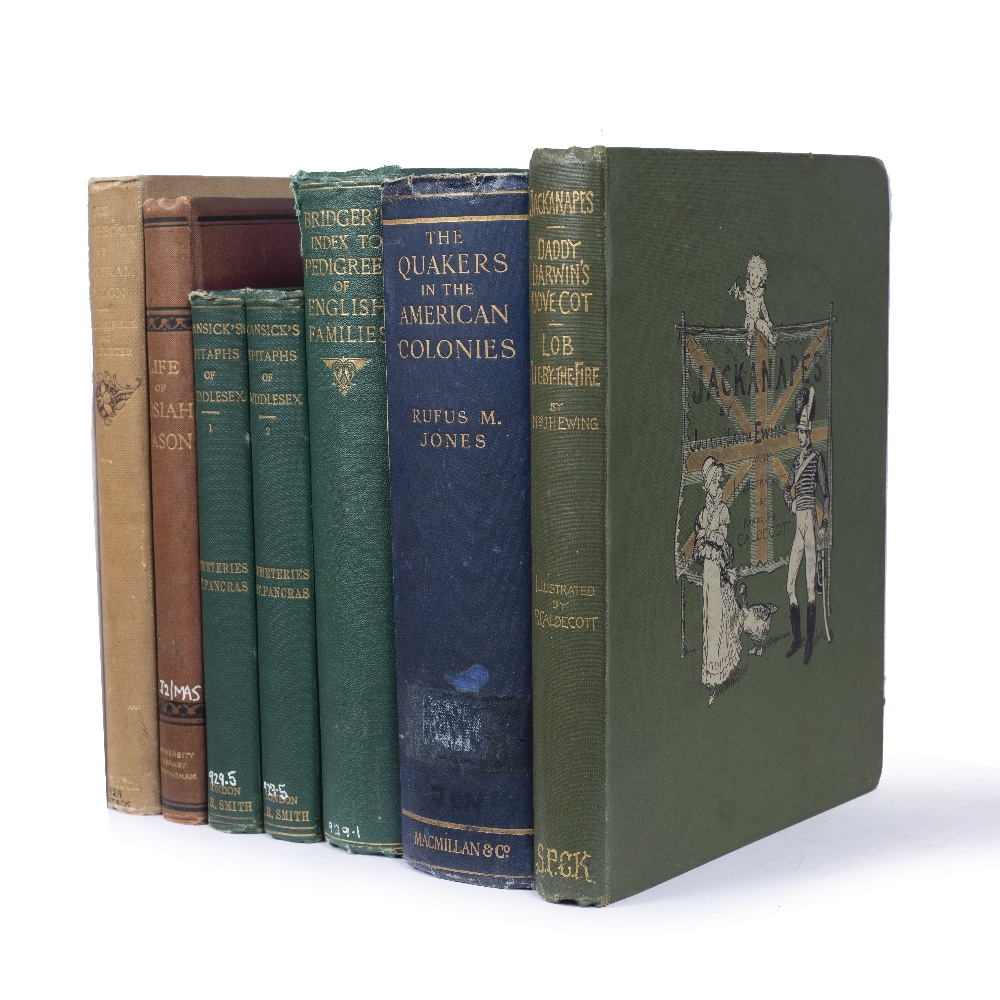 AN ECLECTIC COLLECTION OF SIX TITLES VIS:- (a) DALLAS, James, The Note-Book of Tristram Risdon