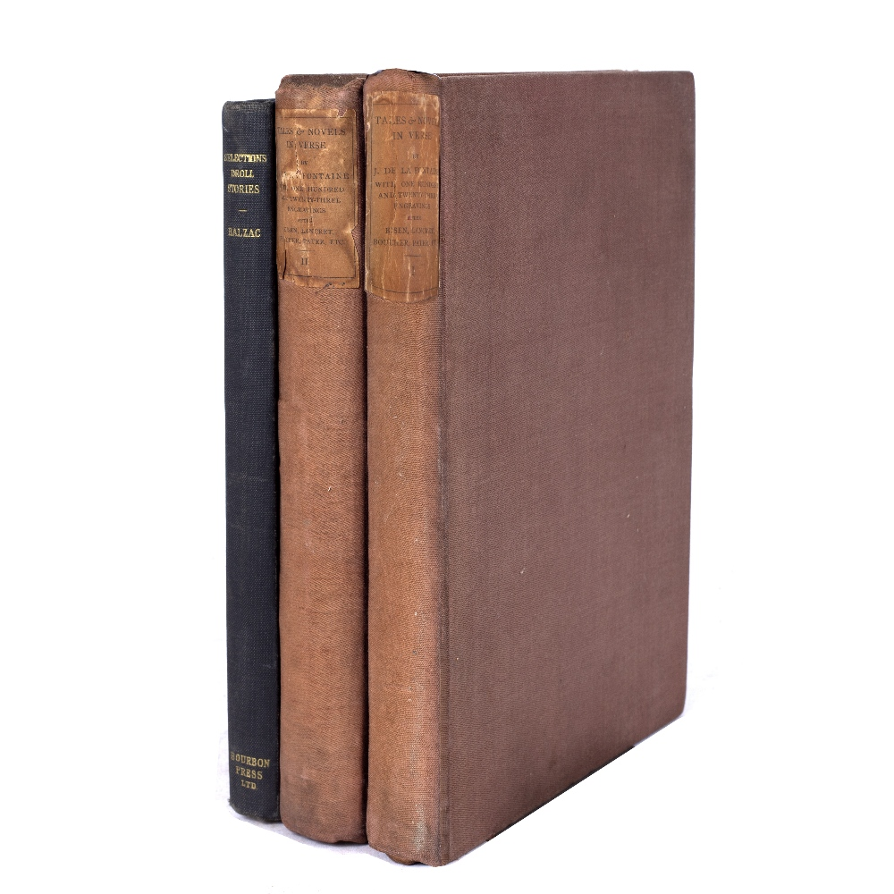 DE LA FONTAINE, Jean, Tales & Novels in Verse with 85 engravings by Eisen and 38 after Lancret,