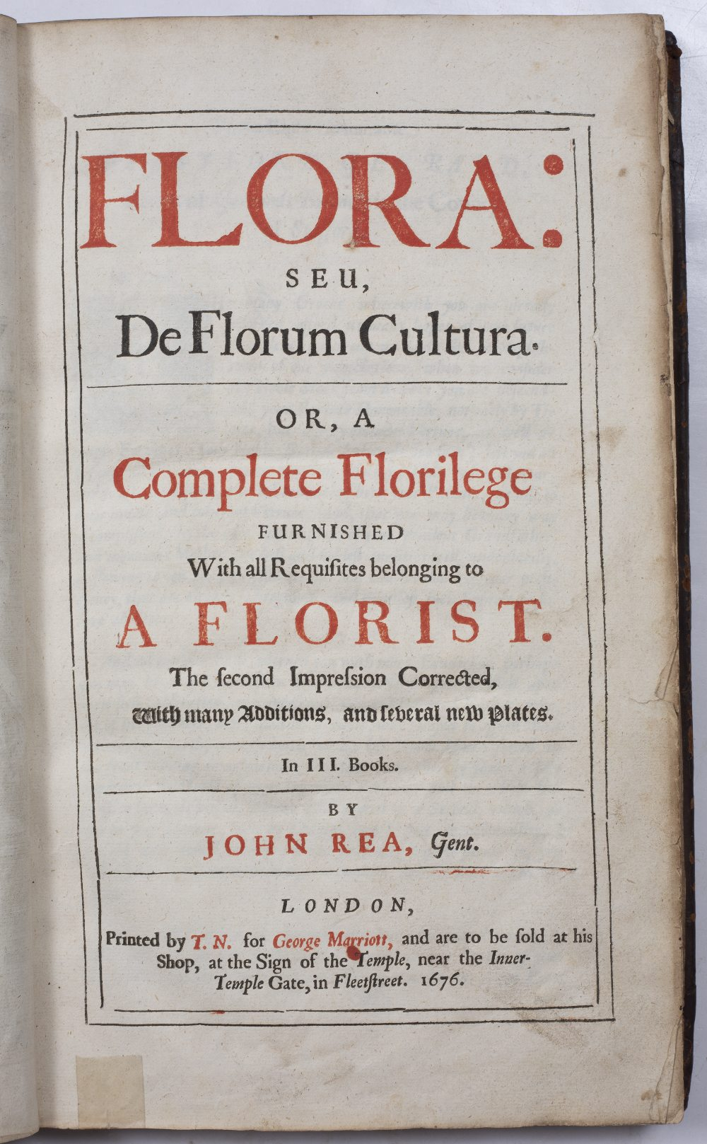 EVELYN, John, Sylva, or a Discourse of Forest Trees and the Propagation of Timber in His Majesties - Image 3 of 4
