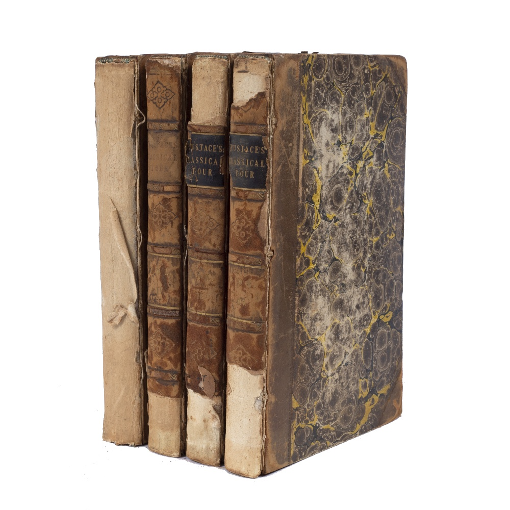 EUSTACE, Rev. John Chetwode, 'A Classical Tour through Italy', 6th Edition in 4 vols. J Mawman,