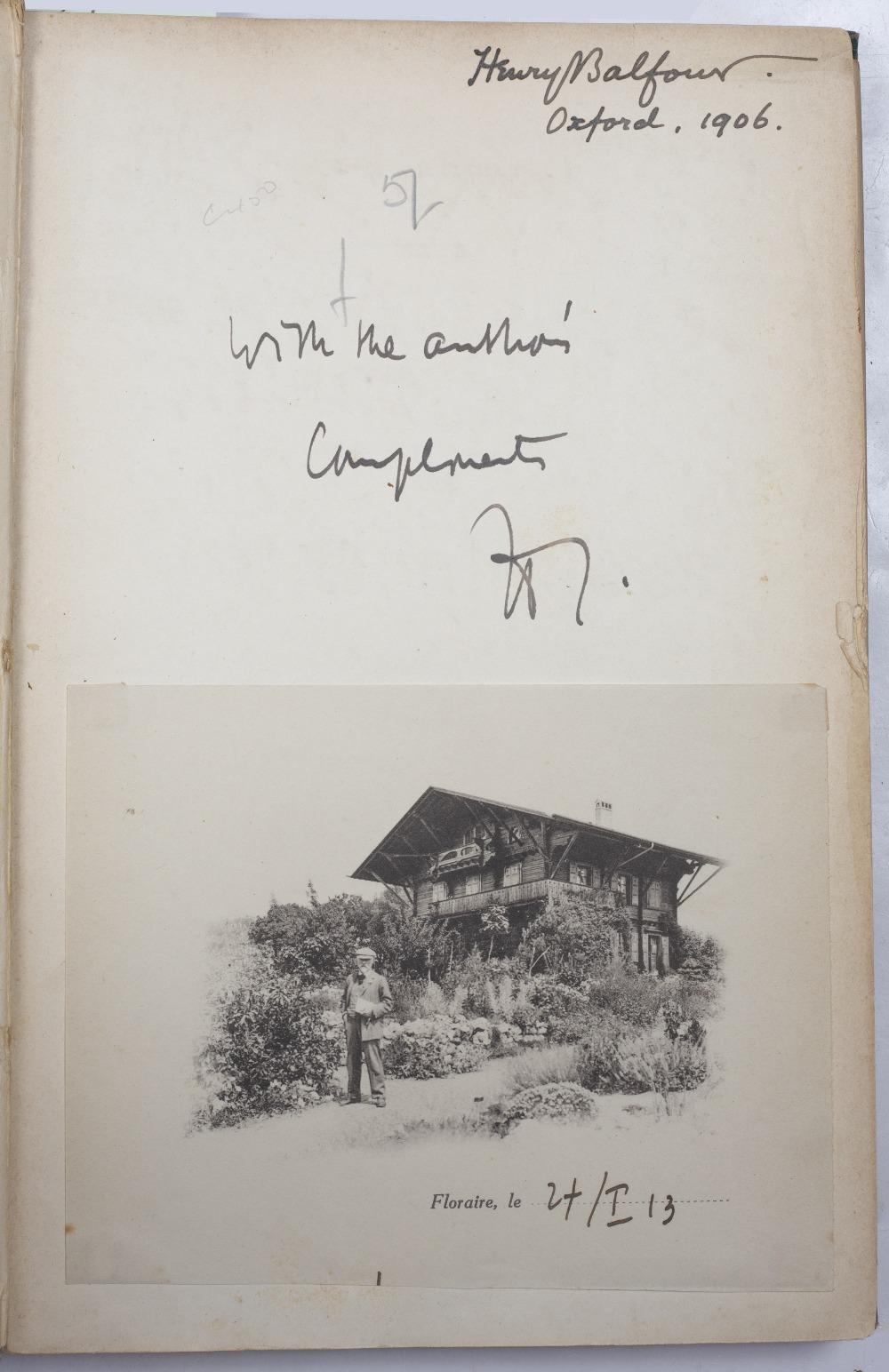 CORREVON, Henry (1854-1939), Swiss Botanist Album des Orchidées de L'Europe centrale et - Image 2 of 3