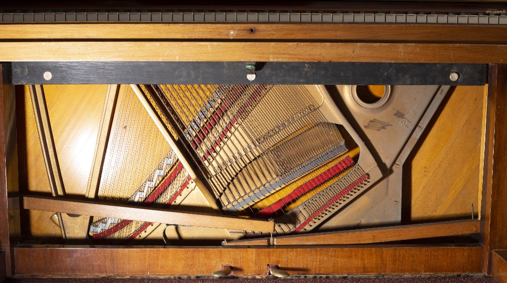 A STEINWAY & SONS ROSEWOOD UPRIGHT VERTEGRAND MODEL K PIANO, Serial no. 271709, (c.1931)155cm - Image 4 of 4