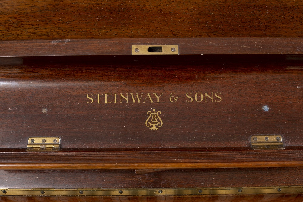 A STEINWAY & SONS ROSEWOOD UPRIGHT VERTEGRAND MODEL K PIANO, Serial no. 271709, (c.1931)155cm - Image 2 of 4