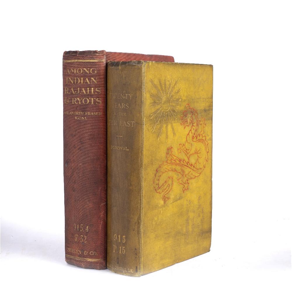 PERCIVAL, William Spencer (1827-1888) 'Twenty Years in the Far East' Simpkin et al. London. n/d.