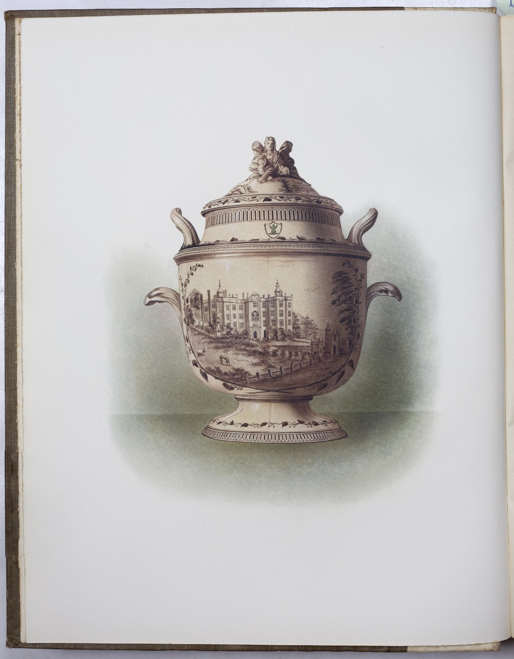 METEYARD, Eliza, 'The Life of Josiah Wedgwood from his Private Correspondence and Family Papers'. - Image 4 of 6