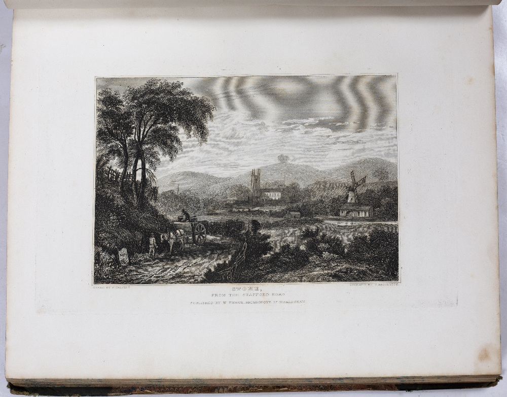 CALVERT, Frederick, illus. 'Picturesque Views and Descriptions of Cities, Towns, Castles, Mansions - Image 2 of 3