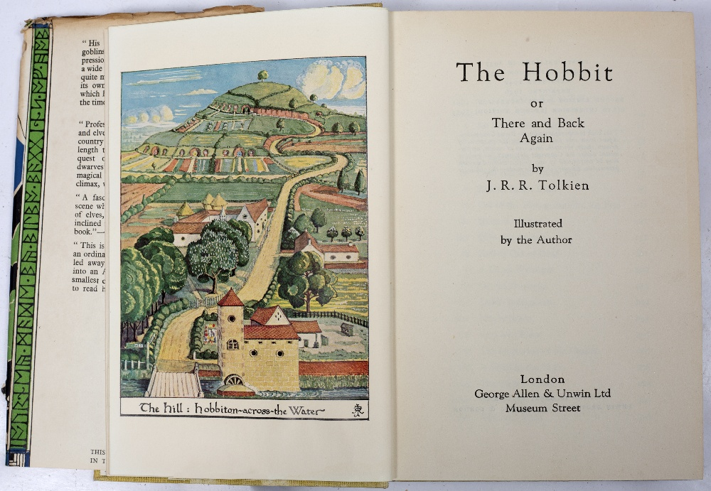TOLKEIN, John Ronald Reuel (1892-1973) 'The Hobbit or There and Back Again'. 6th Imp. 2nd Ed. 1954 - Image 2 of 2