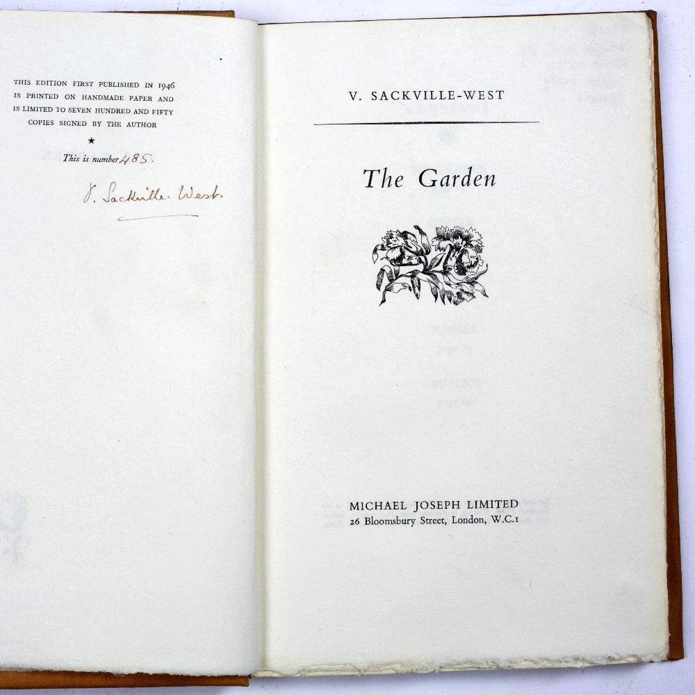 SACKVILLE-WEST, Vita, Lady Nicholson (1892-1962), English Poet, 'The Garden'. 5 seasonal poems - Image 2 of 2
