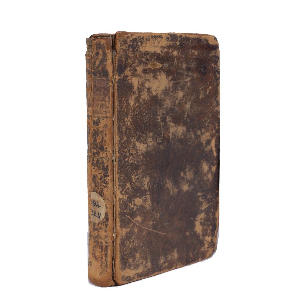 BENJAMIN, Ben Jonah of Tudela, Itinerarium D. Beniaminis cum Versione et Notu Constantini L'