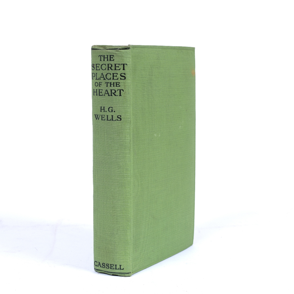 WELLS, Herbert George (1866-1946) 'The Secret Places of the Heart', First Edition. Cassell and