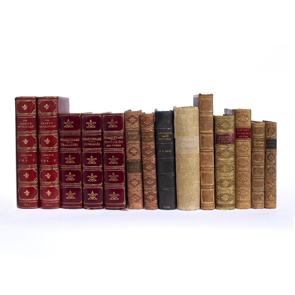 GIANNINI, Giulio, Firenze Binder. 'The Comedies of Shakespeare'. Henry Frowde. O.U.P. 1911. Tooled