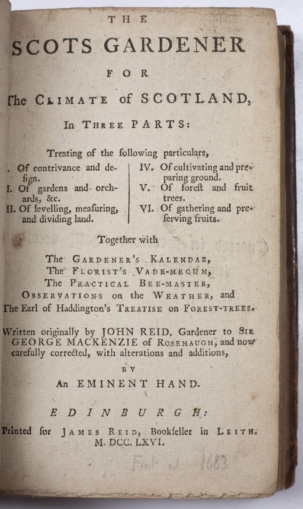 AUSTEN, R.A. 'A Treatise of Fruit Trees', 'Profits - Pleasures' Thomas Robinson, Oxford 1653 with - Image 3 of 4