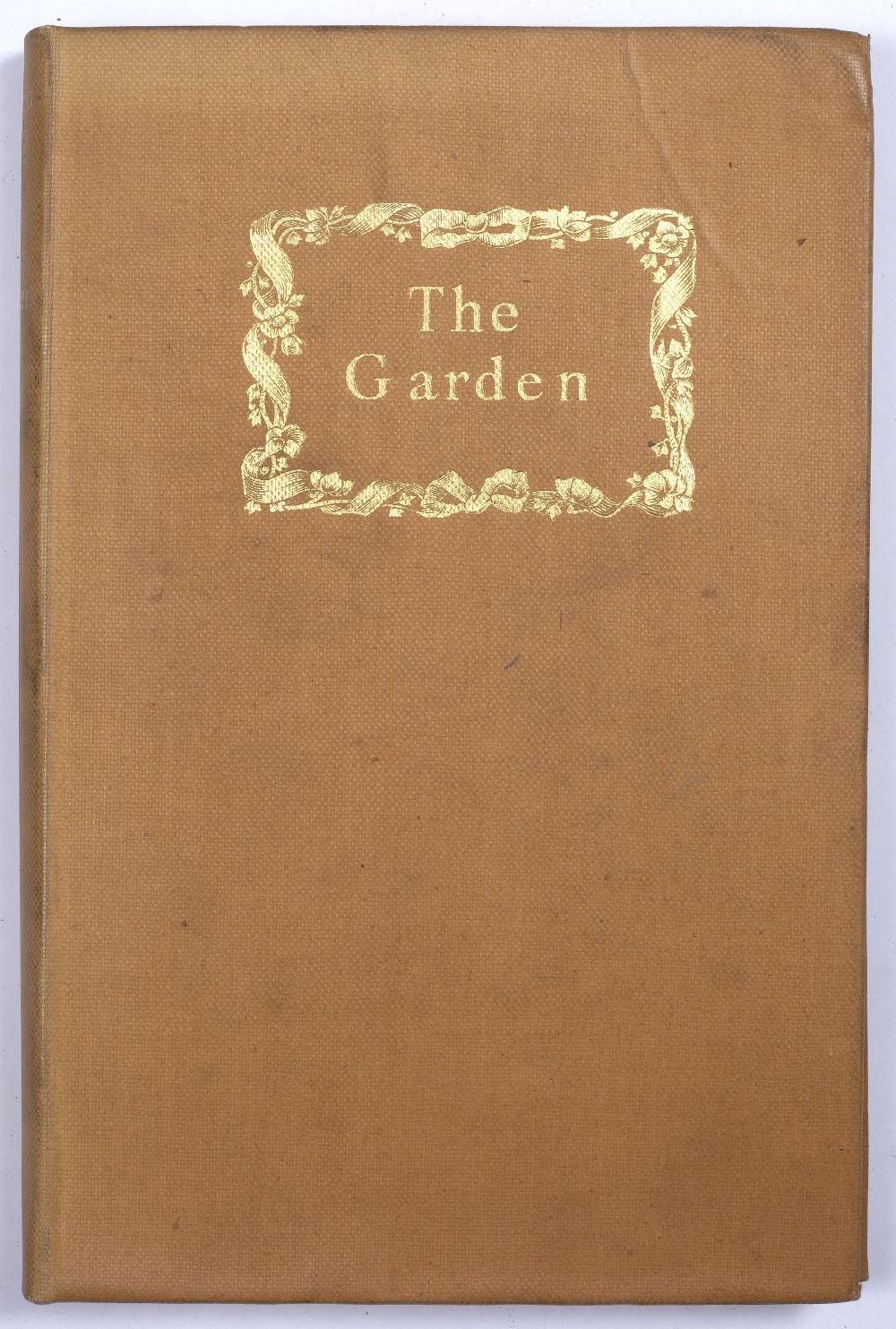 SACKVILLE-WEST, Vita, Lady Nicholson (1892-1962), English Poet, 'The Garden'. 5 seasonal poems