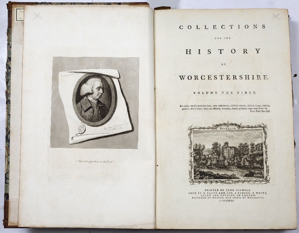 NASH, Treadway Russell (1724-1811) English Clergyman and Antiquarian Collections for the History - Image 5 of 6