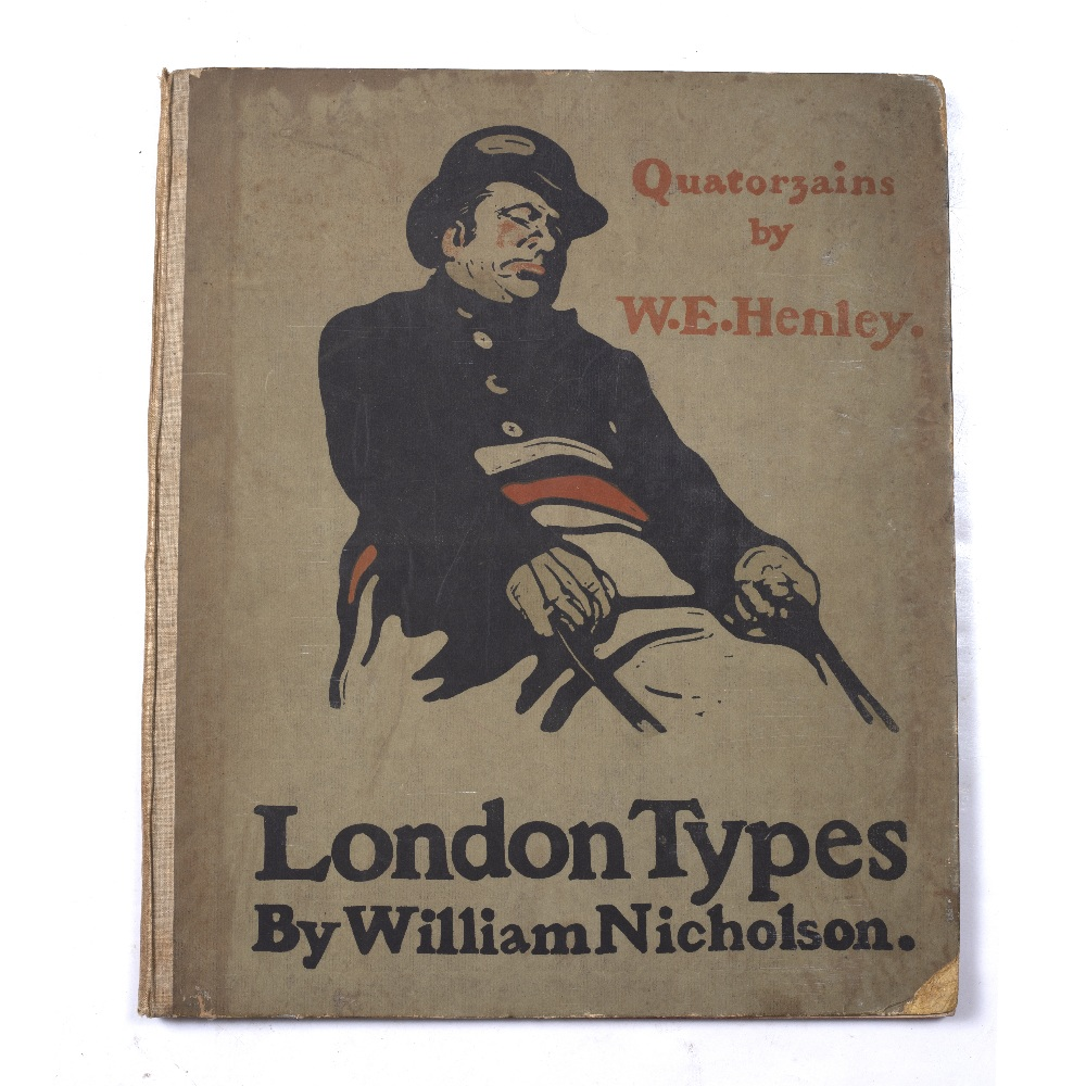 NICHOLSON, William, London Types. Quatorzains by W.E. Healey and An Almanac of Twelve Sports, - Image 2 of 5