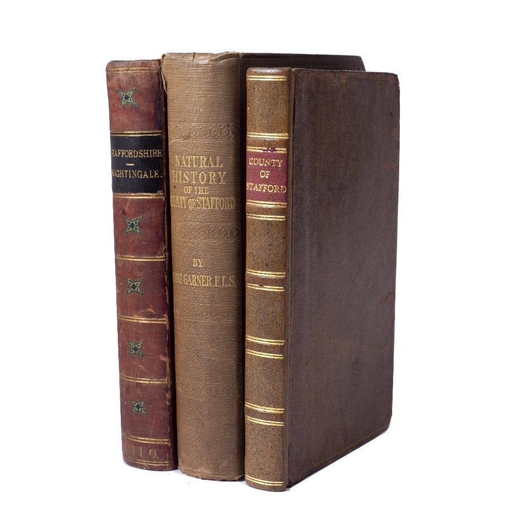 NIGHTINGALE, The Rev. J. A Topographical and Historical Description of Staffordshire. Sherwood,