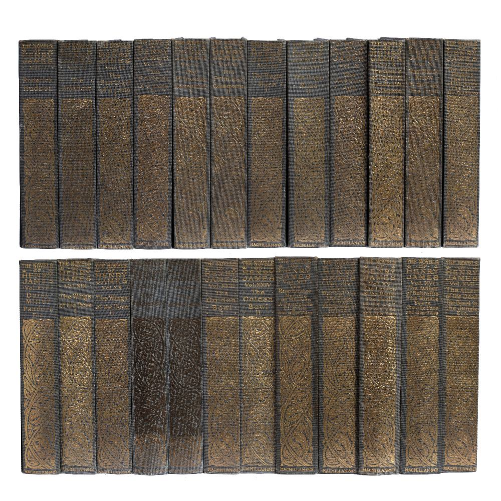 JAMES, Henry (1843-1916), American Writer The Novels and Tales of Henry James, New York Edition.