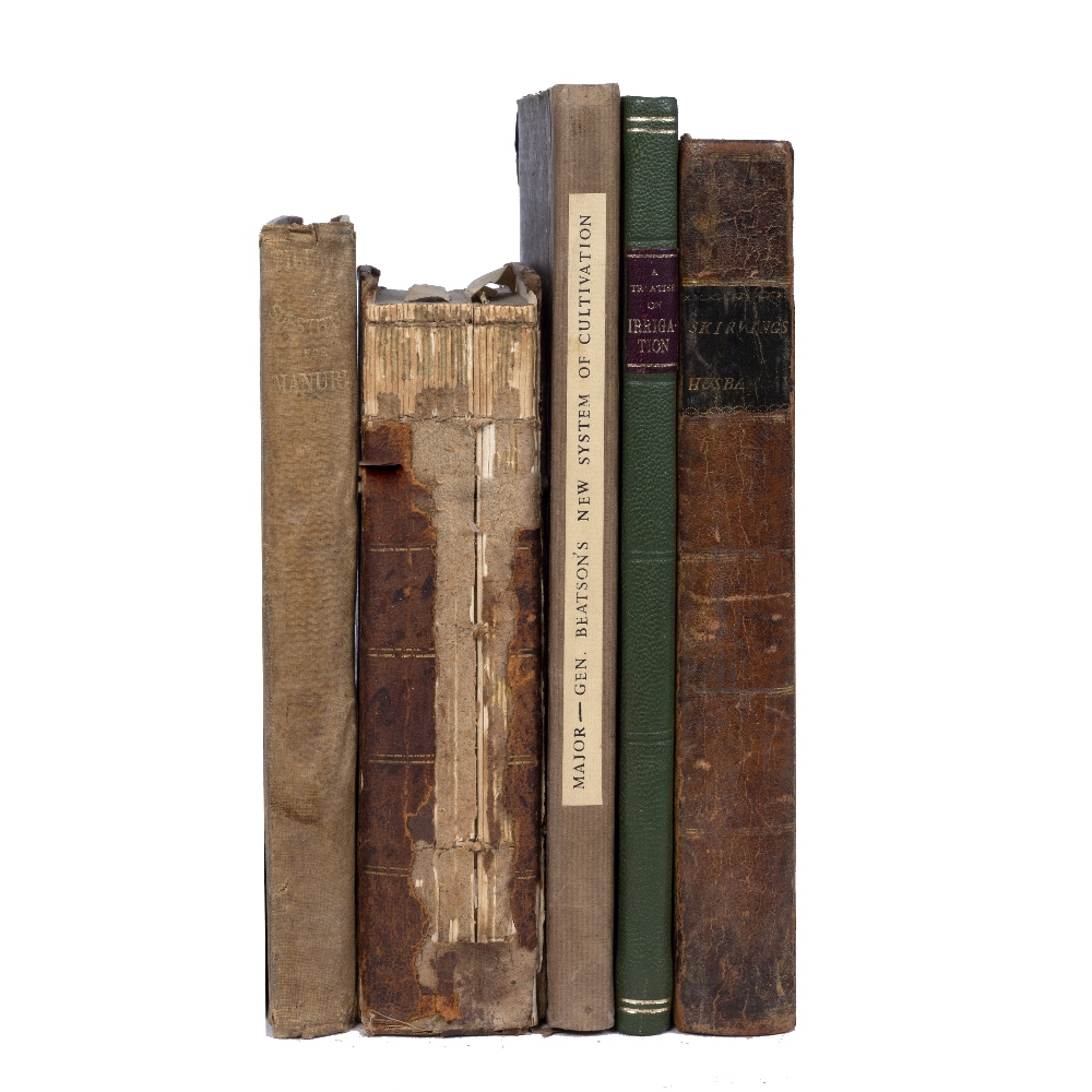 BURNETT, Alexander, Jethro Tull's System of Successive Corn Growing, Chester 1869. Plus 4 further