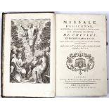 JOSEPHI-DOMINICI DE CHEYLUS. EPISCOPI BAJOCENSIS (Bishop of Bayeux, d.1797) 'Missale Bajocense,