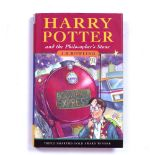 ROWLING, J.K. Harry Potter and The Philosopher's Stone, Bloomsbury, London 1997. print run 30. 29.