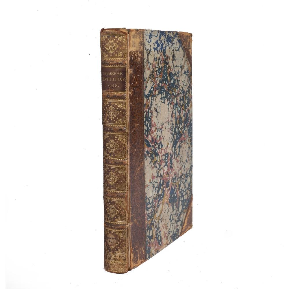 PETRA SANCTA, Silvestro, Tesserae Gentilitae, Rome, Francisci Corbelletti 1638 with title page