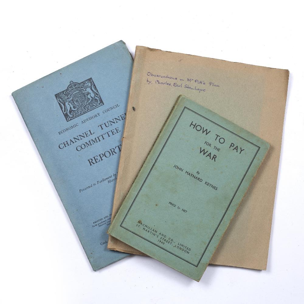 ECONOMICS: KEYNES, John Maynard, 'How to Pay for the War', Macmillan, London 1940, blue card plus
