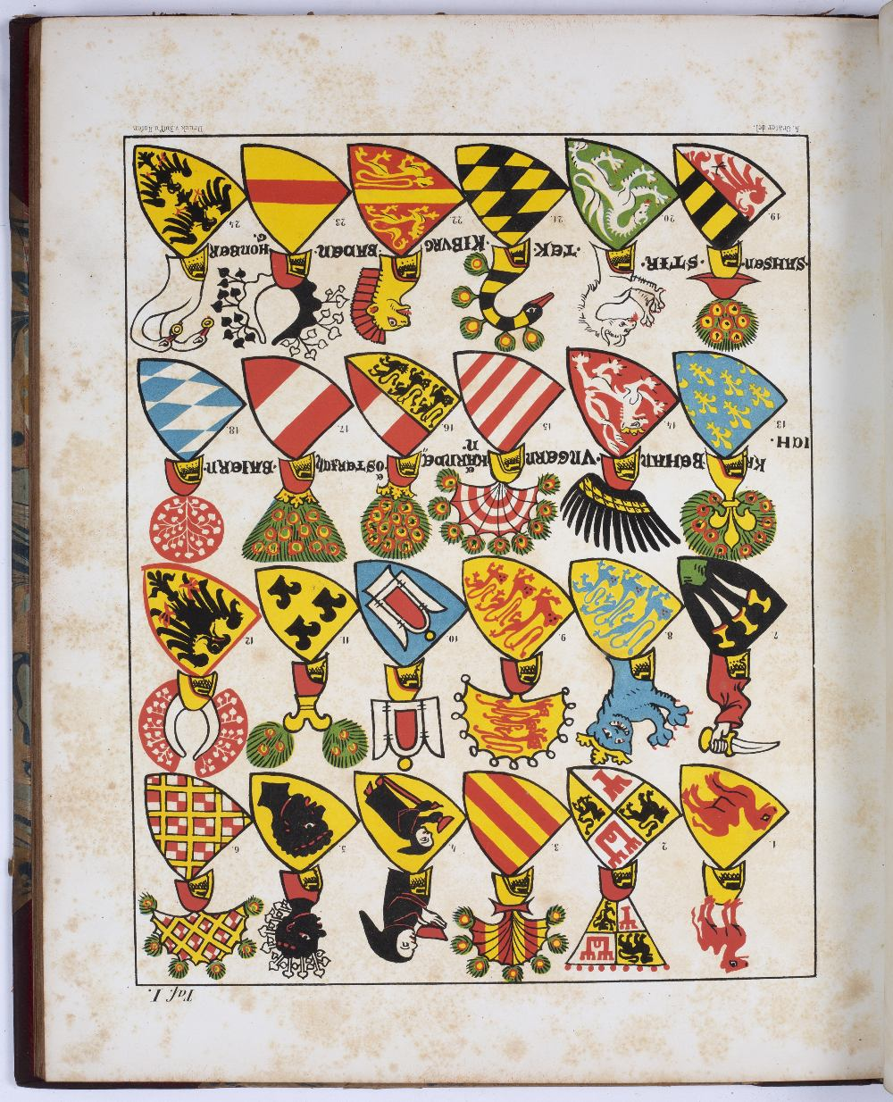 GOOD, J, (Printer). 'A Collection of Coats of Arms Borne by the Nobility and Gentry of the County of - Image 2 of 5