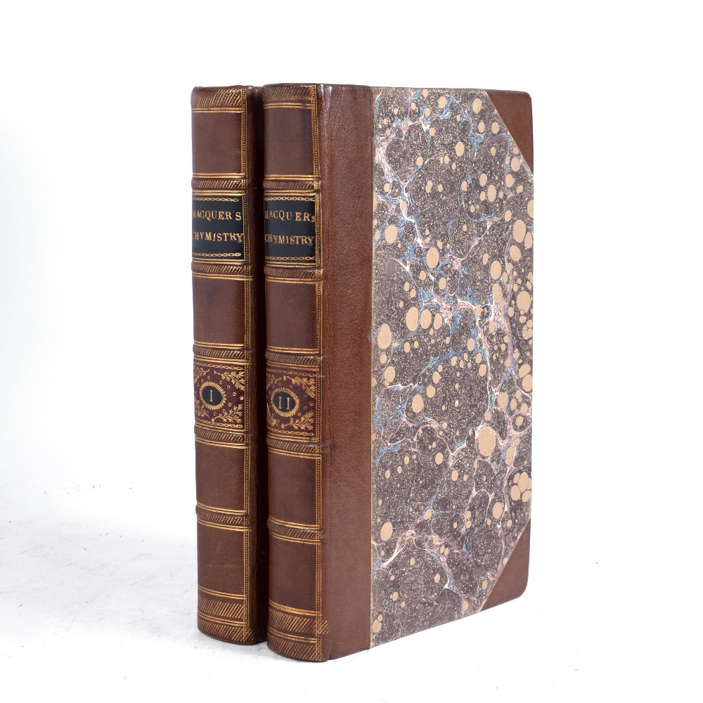 MACQUER, Pierre Joseph, 'Elements of the Theory and Practice of Chymistry', translated from the