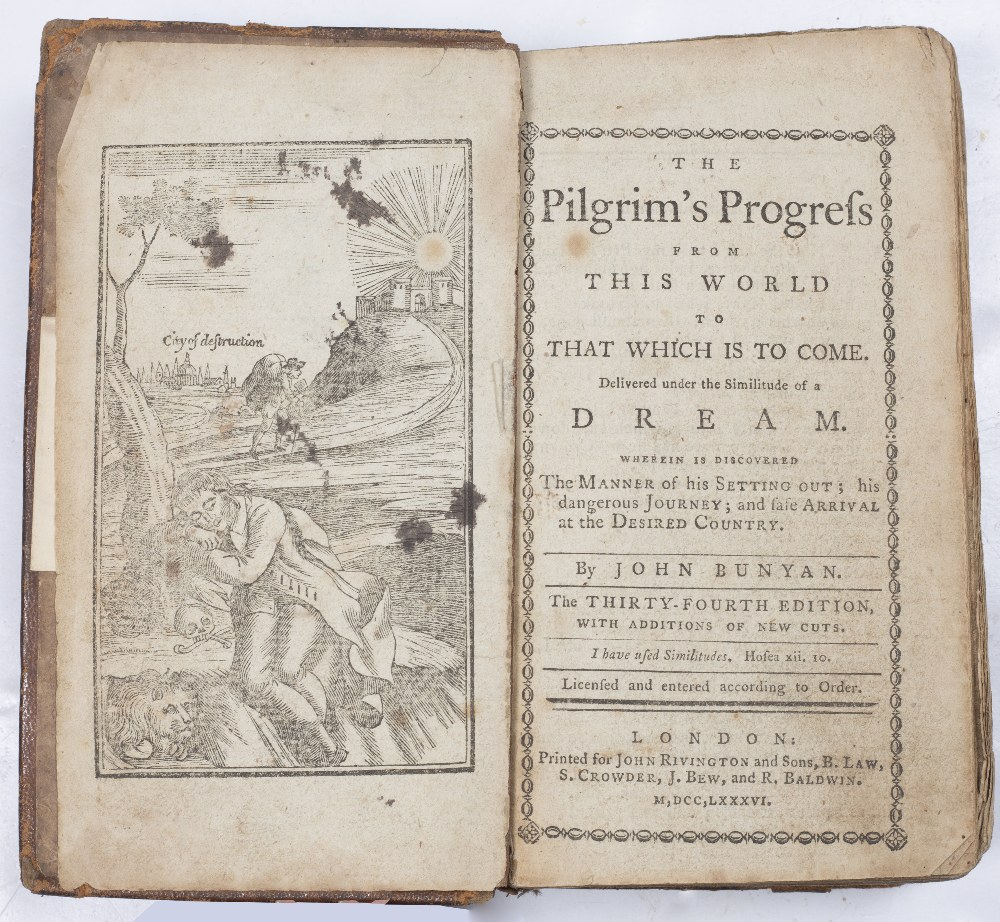 A GROUP OF TEN 18TH CENTURY 'RIVINGTON' PUBLICATIONS TO INCLUDE:- BUNYAN, John, 'The Pilgrim's - Image 2 of 2