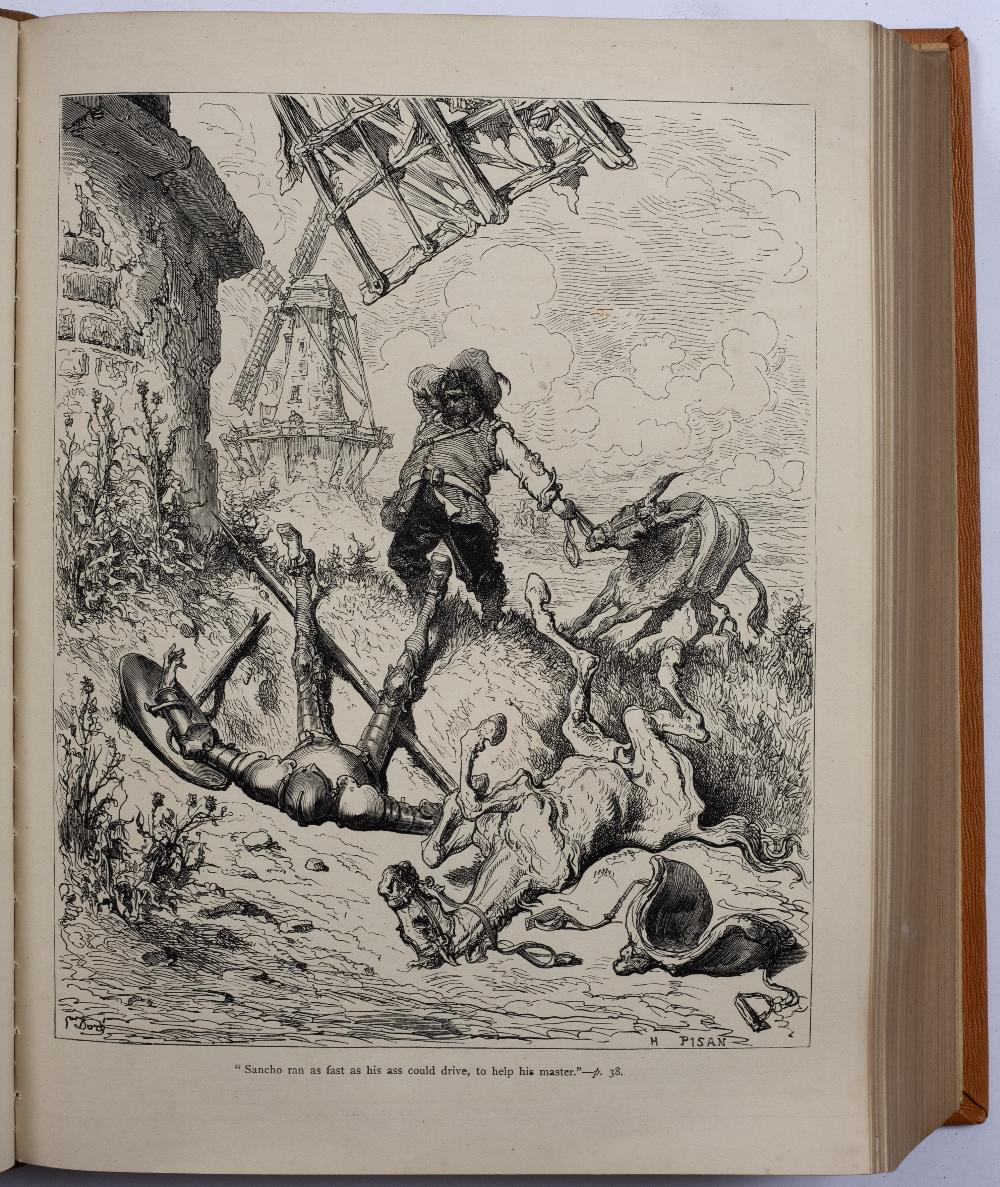 CLARK, J.W. (Editor), DORÉ, Gustav, (Illustrator), The History of Don Quixote by Cervantes. - Image 3 of 3