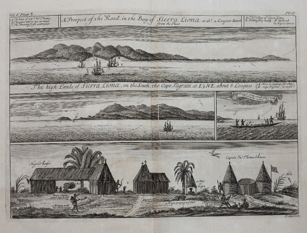 OSBORNE, Thomas, (Ed) 'A Collection of Voyages & Travels some now first printed from Original - Image 7 of 9