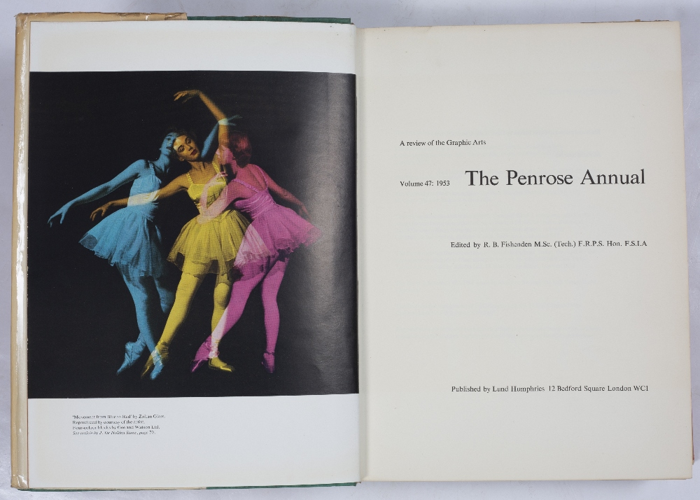 PENROSE ANNUAL Vol. 47 (1953) with d/w and Vol 52 (1958) (2) - Image 2 of 2