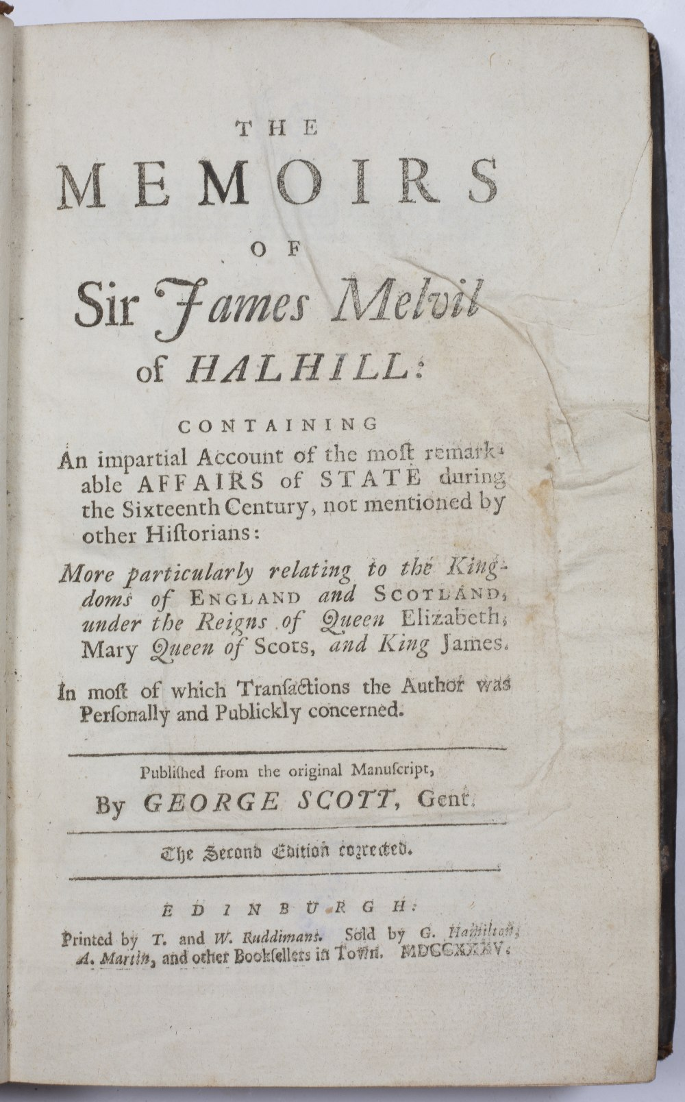 JONES, D, 'The Secret History of White-Hall from the Restoration of Charles II down to the - Image 2 of 5