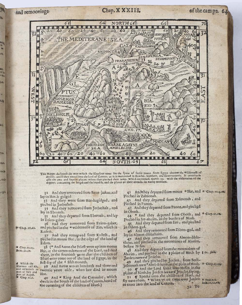 A 16TH CENTURY GENEVA BIBLE lacks Genesis Chapters I-XXVII(pt). New Testament with engraved title - Image 2 of 4
