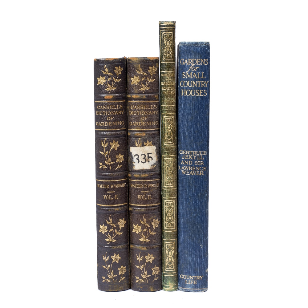 JEKYLL, Gertrude and WEAVER, Sir Lawrence, 'Gardens for Small Country Houses'. 6th Ed. Country Life.