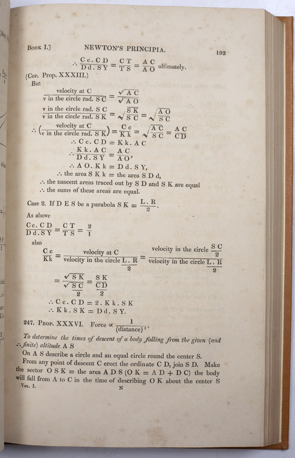 WRIGHT, John Martin Frederick, 'A Commentary on Newton's Principia with a supplementary volume'. - Image 3 of 3
