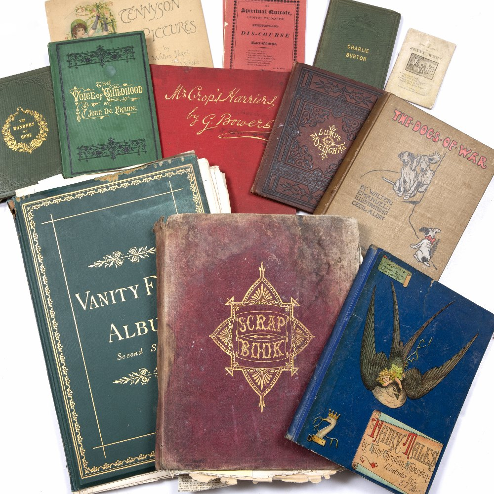 VANITY FAIR ALBUM, Second Series c1870. Binding loose. A collection of nine juvenalia titles and a