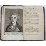 PELLETIER, Bertrand (1761-1797), French Chemist. 'Memoires et Observations de Chimie'. 2 vols.