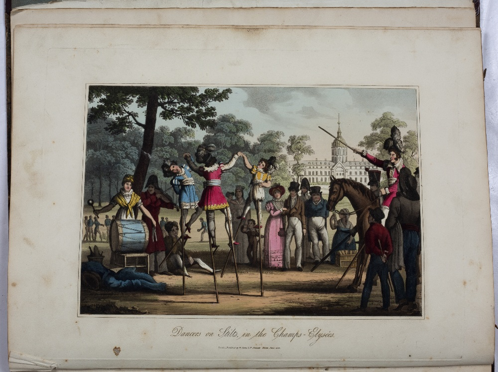 SAMS, William, (Publisher) 'A Tour Through Paris', illustrated with twenty one coloured plates. - Image 5 of 6