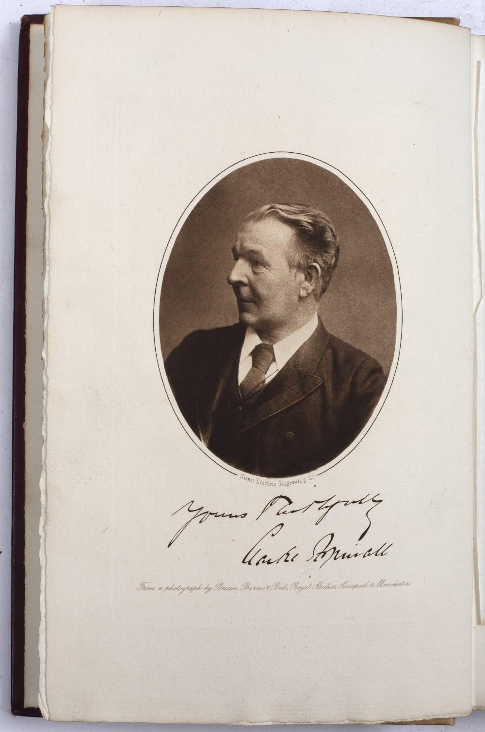 BEBINGTON, CHESHIRE INTEREST:- LEWIN, Walter, 'Clarke Aspinall, A Biography', Allen, London 1893. - Image 3 of 4