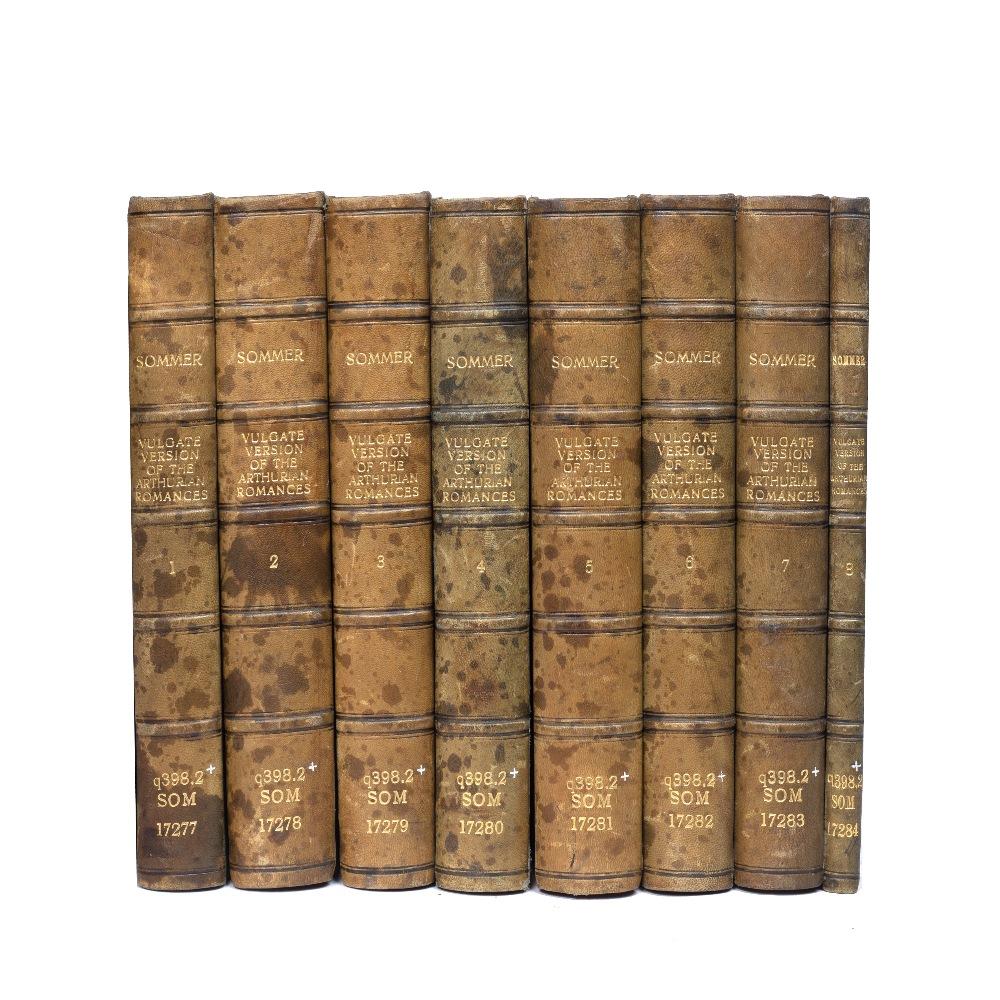 SOMMER, H Oskar, Editor. 'The Vulgate Version of the Arthurian Romances'. Carnegie Institution,